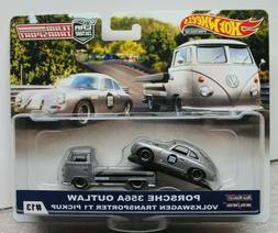 Hot Wheels 2019 Team Transport Porsche 356A Outlaw & VW T1 T