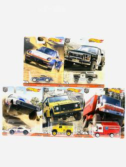 2020 Hot Wheels All Terrain Wild Terrain Set of 5 Cars Car C