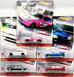 HOT WHEELS 2020 CAR CULTURE MODERN CLASSICS SET OF 5 CAR HON