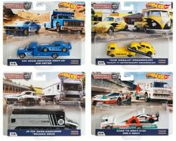 2020 Hot Wheels Car Culture Team Transport Case H Set of 4,