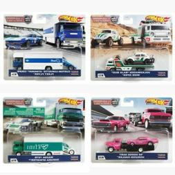 Hot Wheels 2020 Car Culture Team Transport Case J Set of 4 T
