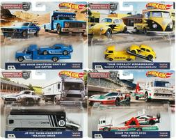 2020 Hot Wheels Car Culture Team Transport H Set of 4 Cars F