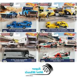 2020 Hot Wheels Car Culture Team Transport H Set of 4 Cars F