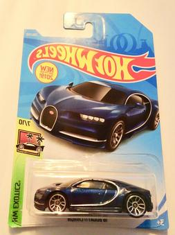 2020 Hot Wheels DARK BLUE '16 Bugatti Chiron-Free Shipping