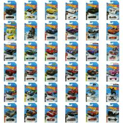 2020 Diecast 1:64 Scale Hot Wheels Cars International Cards