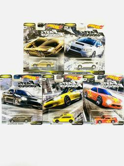 2020 Hot Wheels Fast and Furious Fast Tuners Set of 5 Cars 1