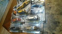 2020 Hot Wheels Fast and Furious Fast Tuners Set of 5 Cars