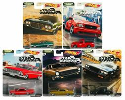 2020 Hot Wheels Fast and Furious Motor City Muscle Set of 5
