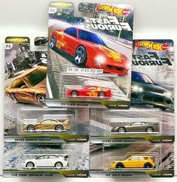 HOT WHEELS 2020 FAST & FURIOUS PREMIUM FAST TUNER SET 5 CAR