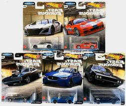 2020 Hot Wheels Fast & Furious Premium Full Force Set of 5 C