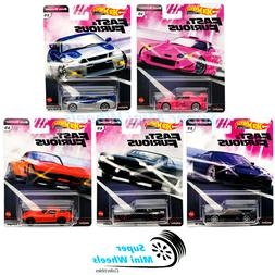 Hot Wheels 2020 Fast & Furious QUICK SHIFTERS J Case Set 5 C