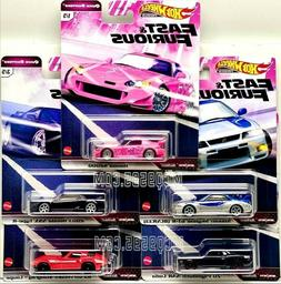 HOT WHEELS 2020 FAST & FURIOUS QUICK SHIFTERS SET OF 5 CAR C