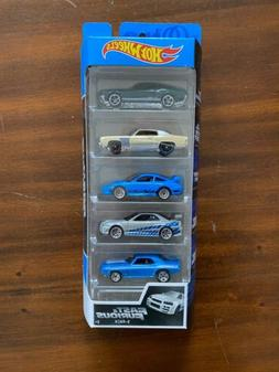 2020 Hot Wheels Fast Furious 5 Pack Mustang,Monte Carlo,Pors