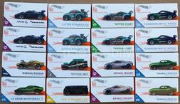 2020 Hot Wheels Id Cars Series 2 Sealed case of 16, 2020 FXB