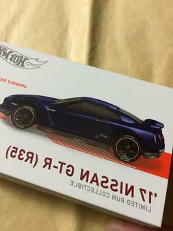 2020 Hot Wheels id Series 2: '17 Nissan GTR  Blue / MIMP /