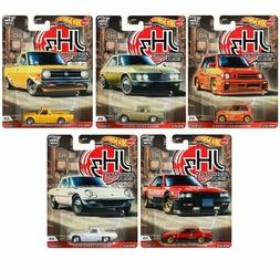 2020 Hot Wheels Japan Historics 3 Set of 5 Cars Car Culture