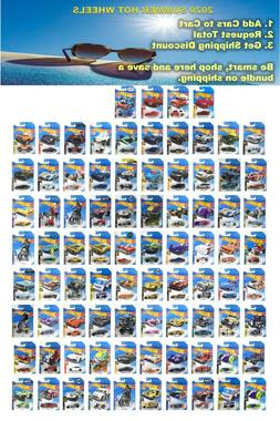2020 Hot Wheels Main Line Series You Pick A - F Case,EASTER