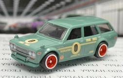 2020 Hot Wheels Nissan Garage - Dastun 510 Wagon - Mint Gree
