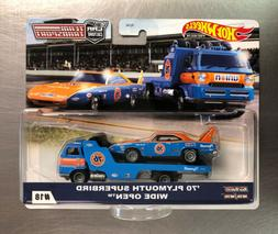 HOT WHEELS 2020 TEAM TRANSPORT '70 PLYMOUTH SUPERBIRD WIDE