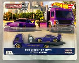 HOT WHEELS 2020 TEAM TRANSPORT RWB PORSCHE 930 AERO LIFT CAR