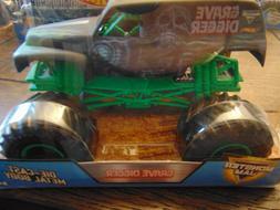 35th ANNIVERSARY GRAVE DIGGER Hot Wheels Monster Jam Truck 1