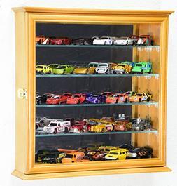 4 Adjustable Shelves Mirrored Hot Wheels / Matchbox / Diecas