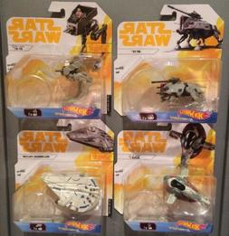 4 x 2017 -Star Wars -Hot Wheels- SOLO - AT- TE & AT-ST & SLA