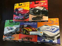 5 Car Set * 2019 Hot Wheels SILHOUETTES Car Culture Case J *