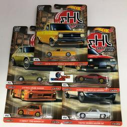5 Car Set * 2020 Hot Wheels Japan Historics 3 Car Culture Ca