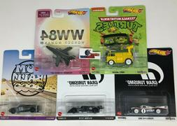 5 Car Set * 2020 Hot Wheels Retro Entertainment Case T * IN