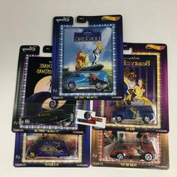 5 Car Set Disney * 2020 Hot Wheels SET Pop Culture F Case *