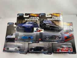 5 Car Set Full Force * 2020 Hot Wheels Fast Furious Case H *