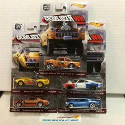 5 Car Set REDLINERS * Hot Wheels Car Culture w/ Gasser * WA6