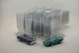 50 - Hot Wheels Plastic Car Cases - Diecast 1:64  Boxes