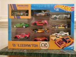 Hot Wheels 50th Anniversary 10 Car Pack Chevy Gasser
