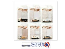 Hot Wheels 52nd Anniversary Pearl and Chrome Series Set of 6