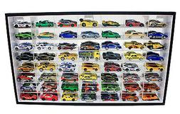 56 Hot Wheels 1:64 Scale Diecast Display Case Stand, Mirrore