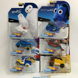 6 Car Set Series 4 * 2019 Hot Wheels DISNEY Pixar Character