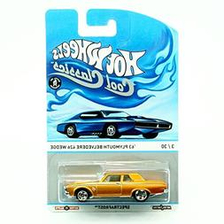 '63 PLYMOUTH BELVEDERE 426 WEDGE 3 of 30 Hot Wheels 2013 SPE