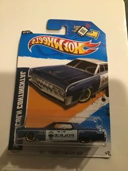 HOT WHEELS '64 LINCOLN CONTINENTAL POLICE CAR