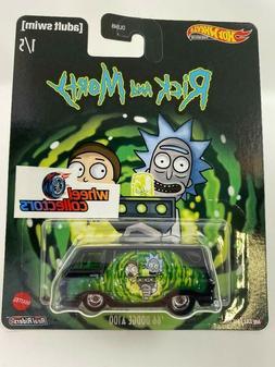 '66 Dodge A100 * Rick and Morty * Hot Wheels Pop Culture Cas
