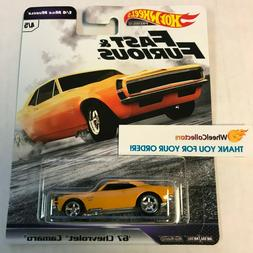 '67 Chevrolet Camaro  1/4 Mile Muscle Case C  2019 Hot Wheel