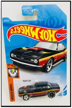 Hot Wheels '68 COPO CAMARO Black Chevrolet Chevy New Colle