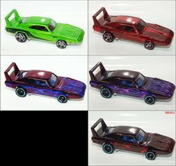 Hot Wheels '69 DODGE CHARGER DAYTONA Custom Color Variants