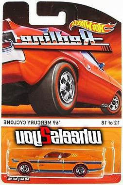 69 MERCURY CYCLONE orange - 2015 Hot Wheels Heritage - REDLI