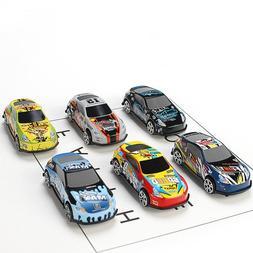 6pcs/<font><b>set</b></font> Toy Car Alloy Tin Car Children