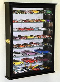 7 Adjustable Shelves Mirrored Hot Wheels / Matchbox / Diecas