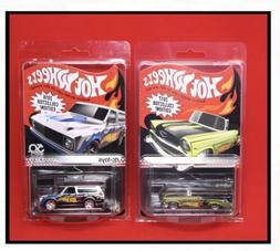 Hot Wheels '70 Chevy Blazer Zamac & '56 Chevy Kmart Coll