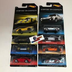 8 Car Set Porsche Series * Hot Wheels * JB26