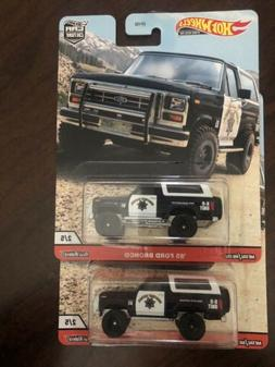 '85 Ford Bronco * 2020 Hot Wheels WILDTERRAIN Car Culture Ca